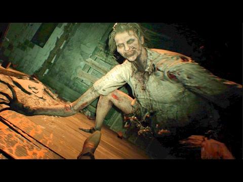 Resident Evil 7 Spider Marguerite Baker Boss Fight Youtube
