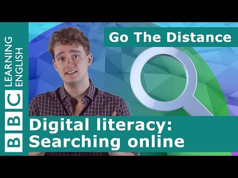 Digital Literacy – Searching For Information Online
