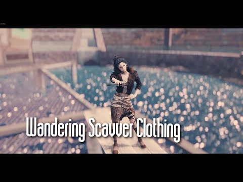 Fallout 4 | Wandering Scavver Outfit Showcase