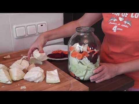 Как приготовить пикули из капусты свеклы и морковки