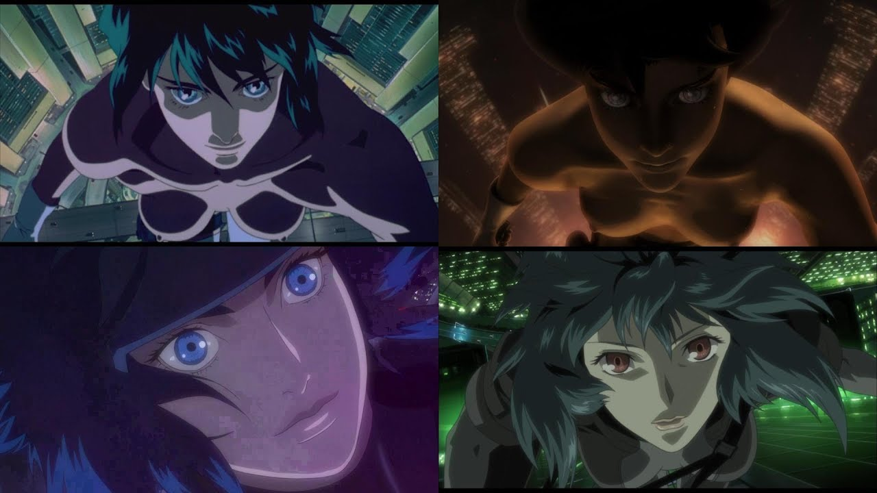 Ghost In The Shell Fall Scene Comparison 1 0 2 0 Individual Eleven And Sac 2nd Gig Youtube