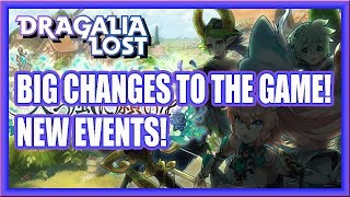 BIG UPDATE AND NEW EVENTS! Dragalia Lost!