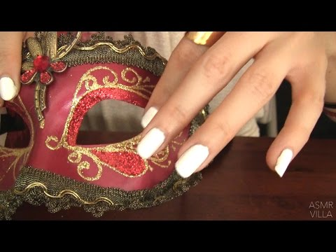 ASMR * Tapping & Scratching * Theme: Masquerade Ball * Fast Tapping * No Talking * ASMRVilla