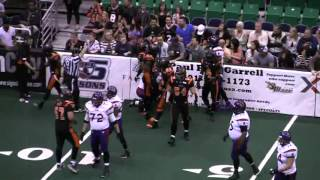 Carlton Brown - Utah Blaze - DB  #1 - 2012 Arena Football League Highlights