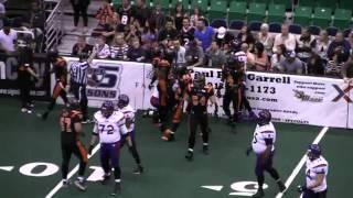 Carlton Brown - Utah Blaze - DB  #1 - 2012 Arena Football League Highlights