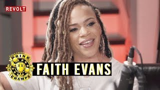 Faith Evans | Drink Champs (Full Episode)
