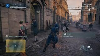 (Assassins Creed Unity) Done a Charlie Chaplin on the police