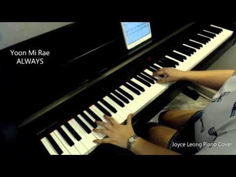 "Yoonmirae( 윤미래) _ ALWAYS ""Descendants Of The Sun OST"" L 태양의 후예  - Piano Cover & Sheets"