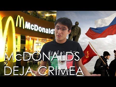 McDonald's cierra temporalmente en Crimea