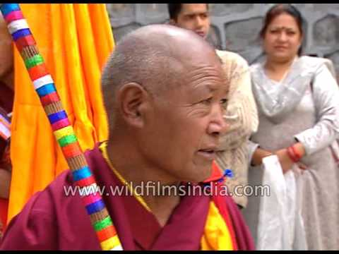 Buddhists from all over the world assemble for Kalachakra Festival in Himachal