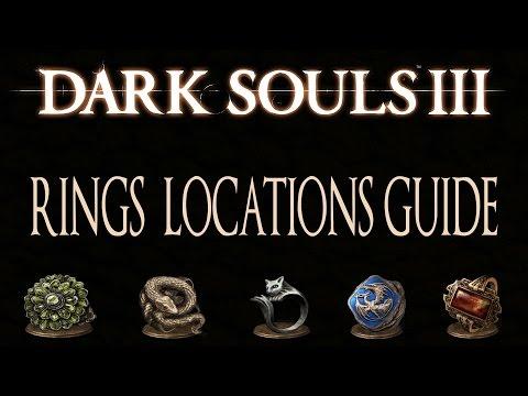 Dark Souls 3 All Rings Locations Guide [113 Rings] - Master Of Rings Trophy
