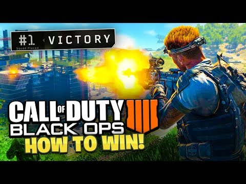 How To WIN COD BATTLE ROYALE - Black Ops 4 Blackout Gameplay