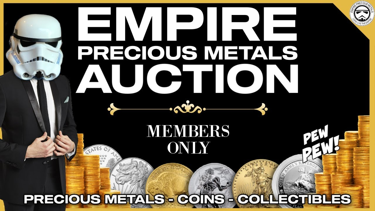 Live Silver And Gold Coin Show Auction 130