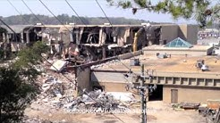 Demolition of the McFarland Mall Gayfers in Tuscaloosa, Alabama
