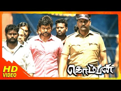 Komban Tamil Movie | Scenes | IM Vijayan Plans To Kill  Rajkiran | Karthi