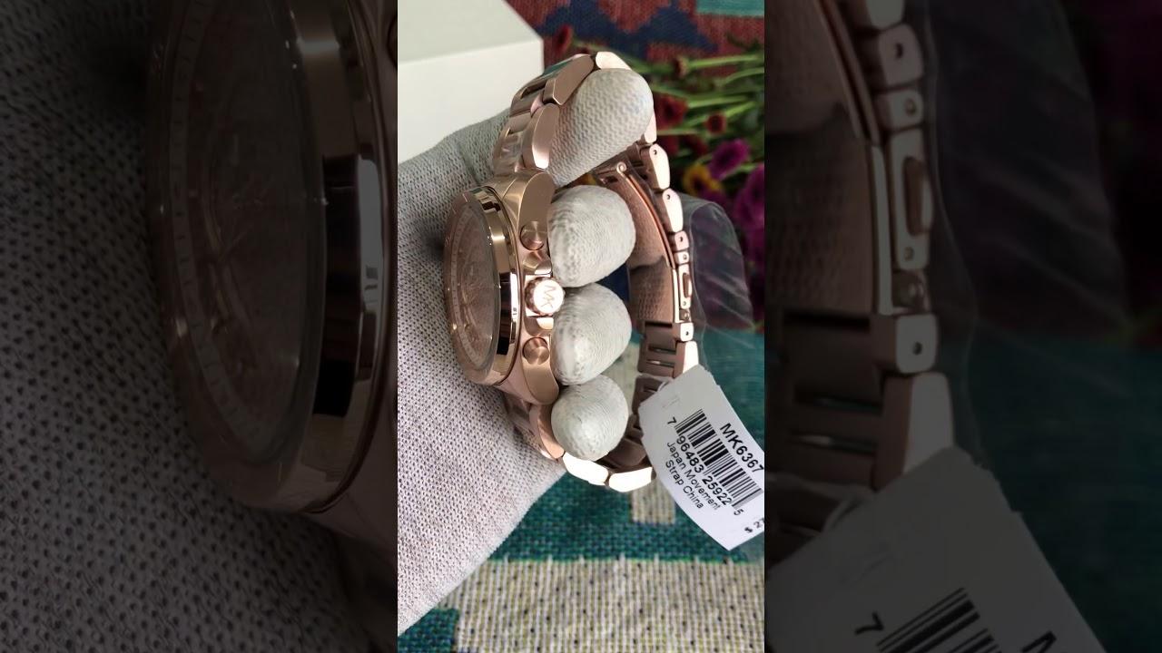 MICHAEL KORS Brecken Chronograph Ladies Watch MK6367 / TIMEWISE/ ĐỒNG HỒ CHÍNH HÃNG