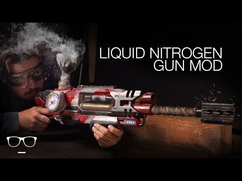 INSANE Nerf Gun Mods LIQUID NITROGEN!
