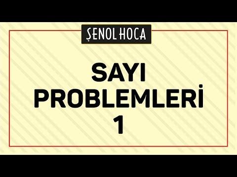 SAYI PROBLEMLERİ 1   ŞENOL HOCA
