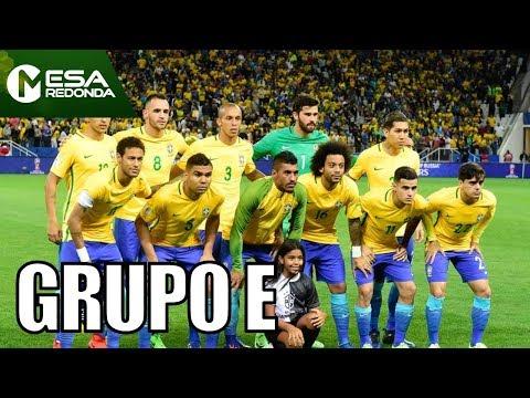 Análise Do Grupo E Da Copa Do Mundo   Grupo Do Brasil - Mesa Redonda (07/01/18)