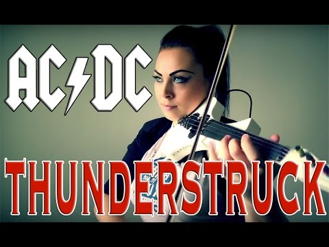 AC/DC - Thunderstruck (Violin Cover Cristina Kiseleff)
