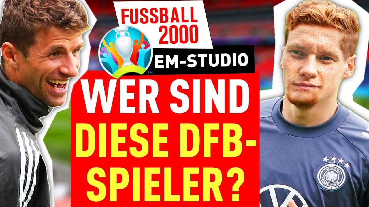 EM 2021: Auf diese Highlights freut sich FUSSBALL 2000 | EM-Studio