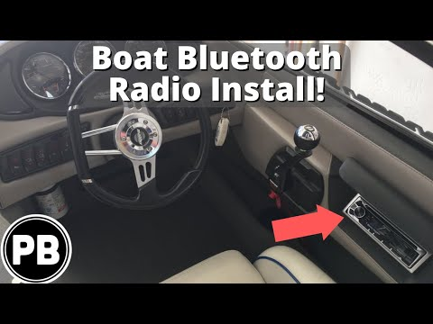 How to Install a Bluetooth Radio and Amplifier on a Boat