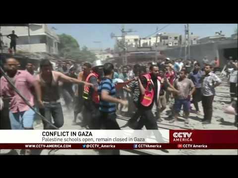 Gaza conflict denies education to 500K children