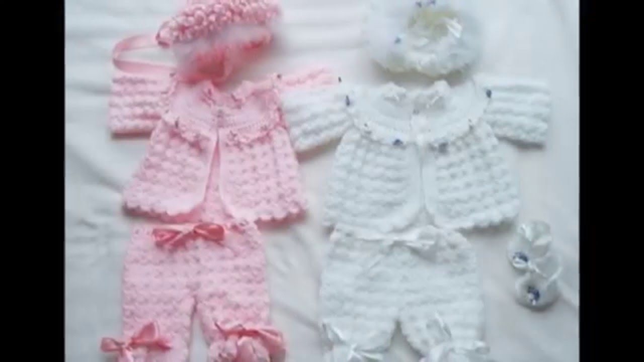 0fd7cdbfb Chambritas tejidas a crochet para bebe - YouTube