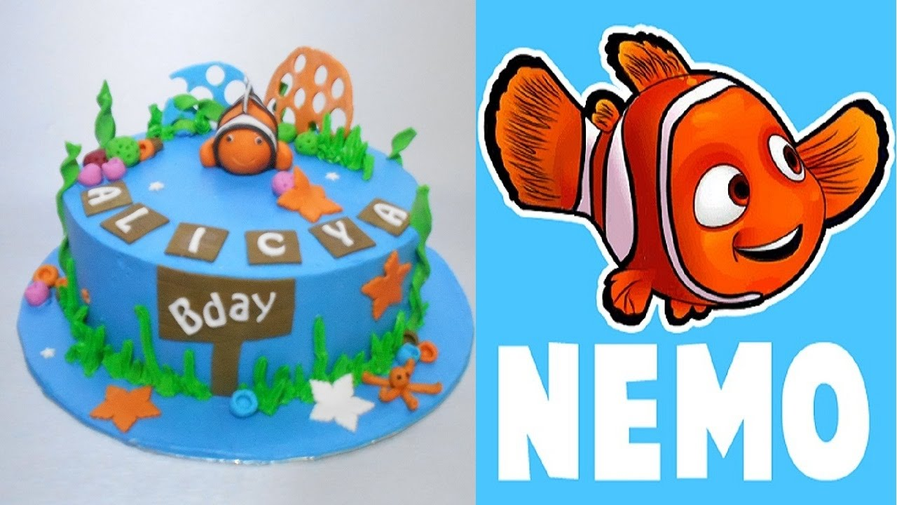 Finding Nemo Cake How To Make