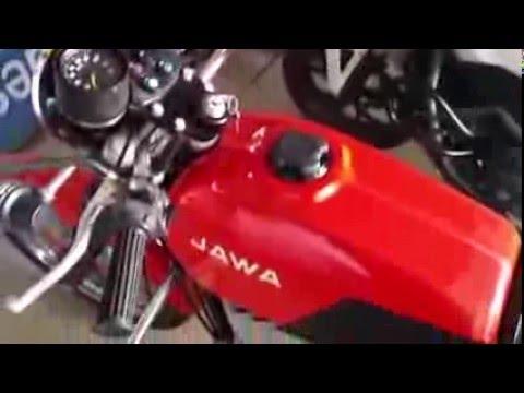 Осторожно! JAWA 350 chopper - YouTube