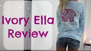 Ivory Ella Review // Kallie Kaiser