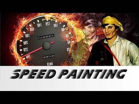 speedpaint - The Gypsy , Édouard Manet, Louvre Abu Dhabi