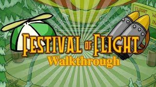 Festival Of Flight Walkthrough (Club Penguin Rewritten)