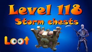 Level 118 Storm Chests Solo - Fortnite Save The World