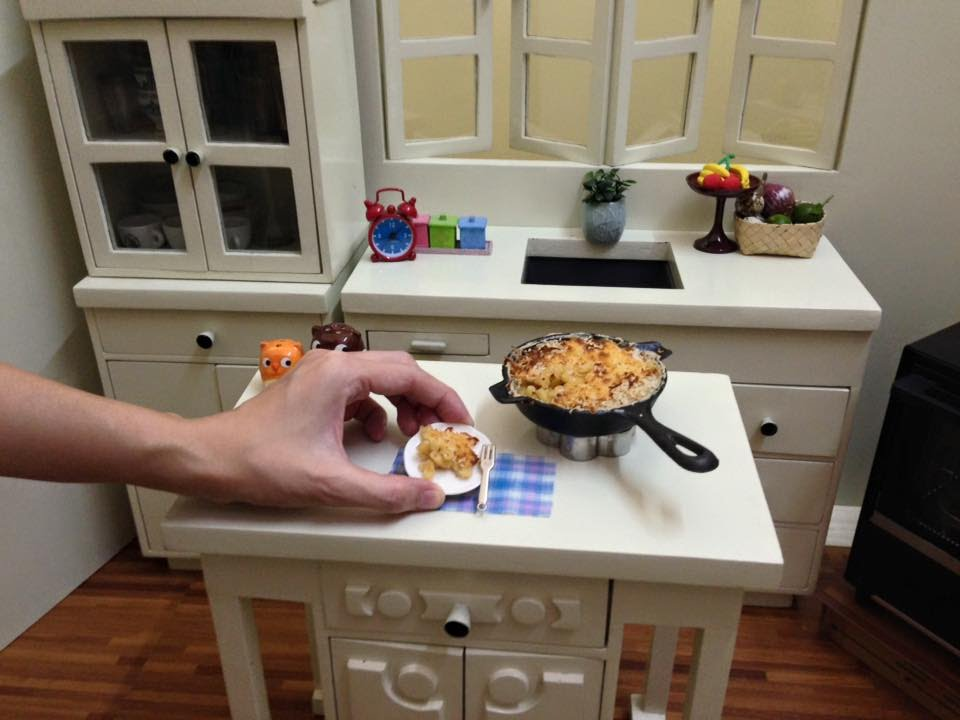 Miniature Food Cooking  One Pot Mac   Cheese (mini food) (kids toys channel  cooking real food) 4b62097b2