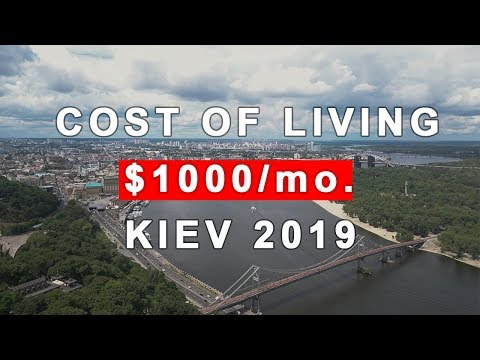 Cost of living in Kiev (Ukraine)