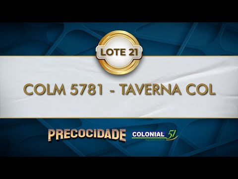 LOTE 21   COLM 5781