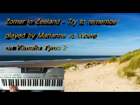 Try to remember - Zomer in Zeeland - cover played by Marianne vd Woerd