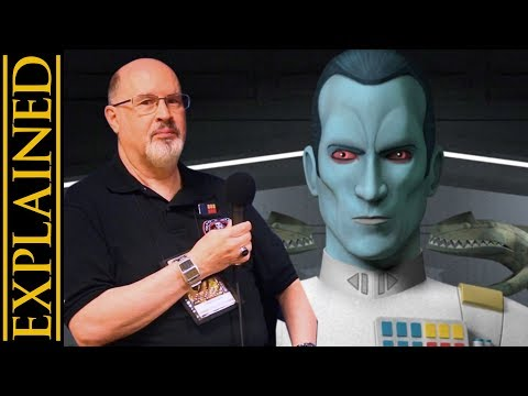 Was Thrawn Handled Well in Star Wars Rebels - With Timothy Zahn