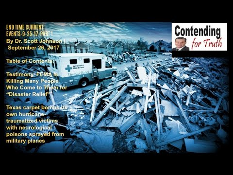 END TIME CURRENT EVENTS-9-25-17-PART 1 By Dr. Scott Johnson