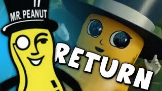 Mr. Peanut RETURNS as Baby Nut...
