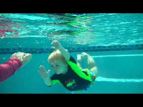Toddler Swim Lesson / Collin 2 Years Old
