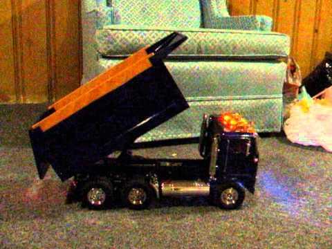 RC Dump Truck With Custom Light bar