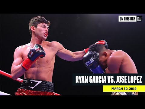 FULL FIGHT | Ryan Garcia Vs. Jose Lopez