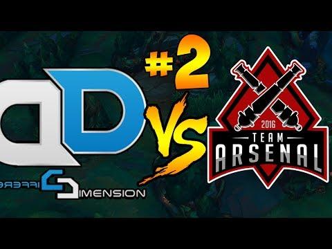 DD vs ARS | ΑΠΙΣΤΕΥΤΟ MATCH | LGC #2