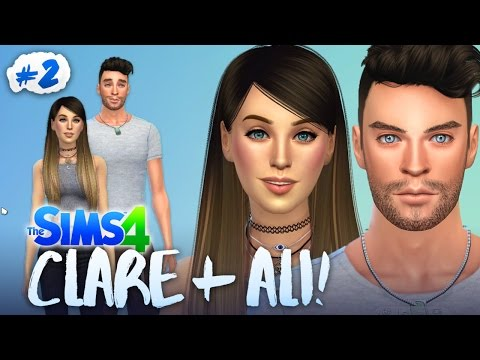 CREATING ALI AND CLARE! 💑 (The Sims 4 #2 🏡)