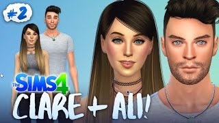 connectYoutube - CREATING ALI AND CLARE! 💑 (The Sims 4 #2 🏡)