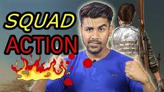 Squad Action  |  PUBG Mobile Live Stream