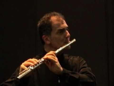 Astor Piazzolla: Historia du Tango,  Café 1930  -Claudio Barile -flute- Viviana Lazzarín piano
