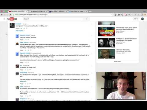 Rubin Report follow-up: Alex Epstein responds to the top 100 YouTube comments